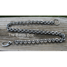 Nut & Ring Wallet Chain - Stainless Steel