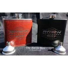 Attack Motorsport 6oz Flask