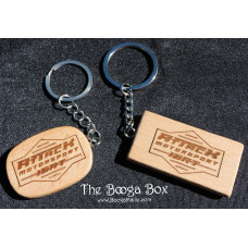 Attack Motorsport Bamboo Key-chain