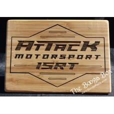 Attack Motorsport Small Cutting Board