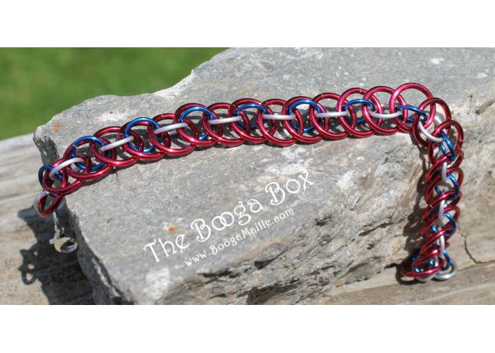 Basket Bracelet - Anodized Aluminum