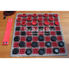 Classic Checker Board Set - Anodized Aluminum