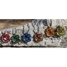 4 Corners Necklace - Anodized Aluminum