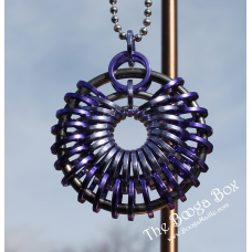 Full Emperor Pendant Necklace - Anodized Aluminum/Stainless Steel