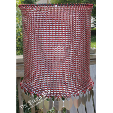 Punch Ring Lamp Shade - Anodized Aluminum