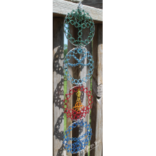 4 Elements Wall Hanging - Anodized Aluminum